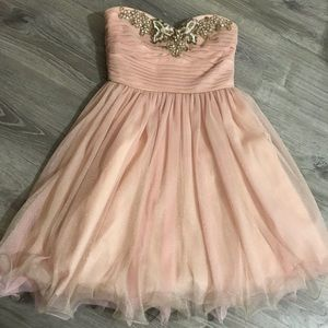 Fantasy Light Pink Dress